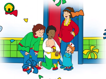 how tall is caillou