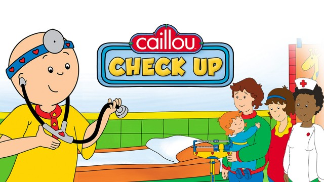 Caillou Check Up