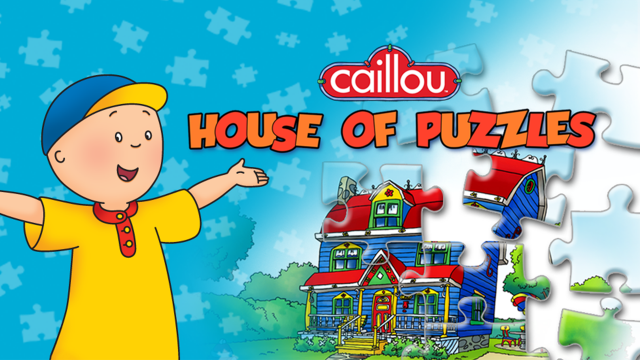 Caillou House of Puzzle