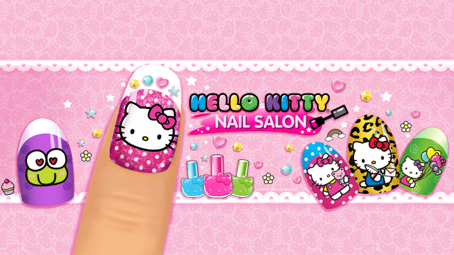 Hello Kitty Nail Salon Budge Studiosmobile Apps For Kids