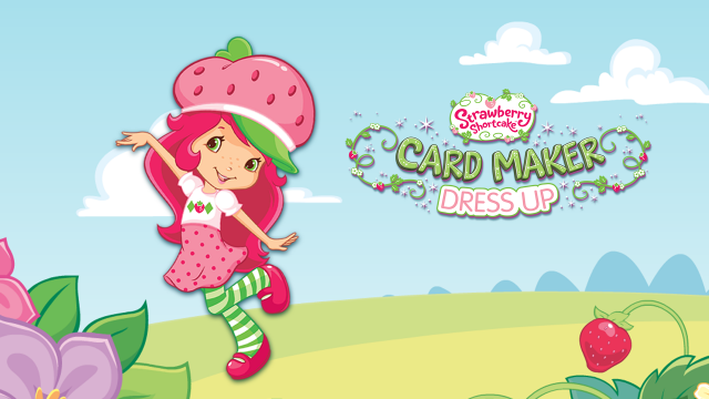 Strawberry ShortCake Card Maker Dress Up