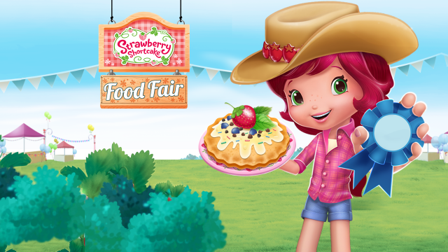 Strawberry Shortcake Food Fair