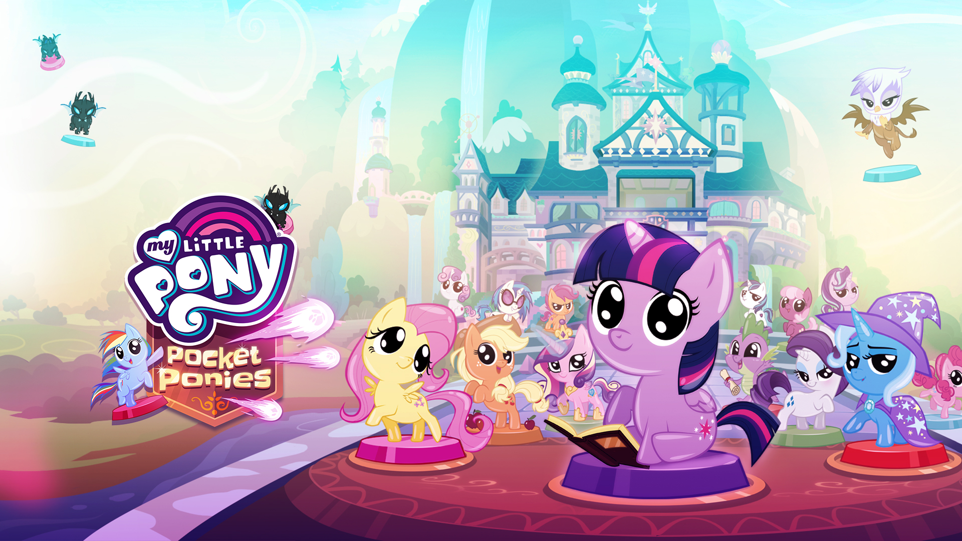 My Little Pony Pocket Ponies Budge Studios Mobile Apps For Kids